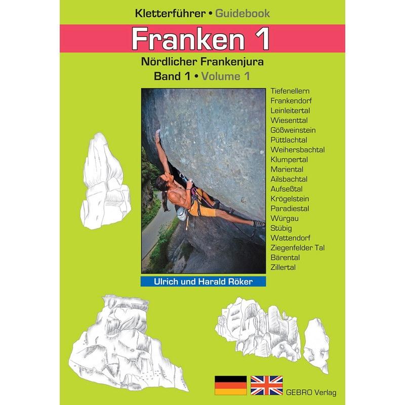 Gebro Verlag Angebote –  40 Prozent Rabatt auf Gebro Verlag Franken 1 – Kletterführer