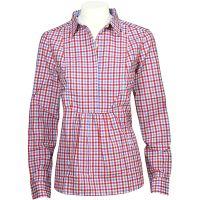 Peak Performance  Angebote –  Peak Performance Eina Check W's Shirt simply red  gerade als Outdoor – Schnäppchen für Sparer