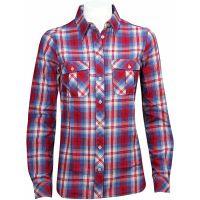 Peak Performance  Angebote –  Peak Performance Eve Flannel W's Shirt blue  gerade als Outdoor – Schnäppchen für Sparer