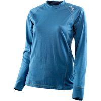 Lundhags  Angebote –  Lundhags Merino Light W's Shirt dark aqua blue  gerade als Outdoor – Schnäppchen für Sparer