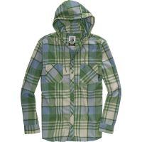 Burton  Angebote –  Burton Ruckus Hooded Flannel astro turf  gerade als Outdoor – Schnäppchen für Sparer