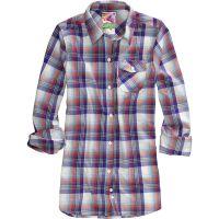 Burton  Angebote –  Burton Player W's Flannel Shirt bright white  gerade als Outdoor – Schnäppchen für Sparer
