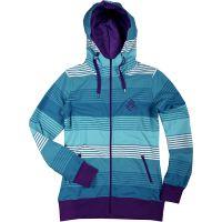 Sweet Protection  Angebote –  Sweet Protection Stripe Zip W's Hoodie stiped blue-violet  gerade als Outdoor – Schnäppchen für Sparer