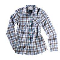 Oakley  Angebote –  Oakley GB Flannel W's Bluse solar blue  gerade als Outdoor – Schnäppchen für Sparer