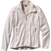 Patagonia  Angebote –  Patagonia R1 Full-Zip W's Jacket white  gerade als Outdoor – Schnäppchen für Sparer