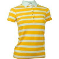 Think Pink  Angebote –  Think Pink Polo 249 W's Shirt gelb  gerade als Outdoor – Schnäppchen für Sparer