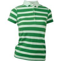 Think Pink  Angebote –  Think Pink Polo 249 W's Shirt grün  gerade als Outdoor – Schnäppchen für Sparer