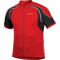 Craft  Angebote –  Craft Active Jersey bright red  gerade als Outdoor – Schnäppchen für Sparer