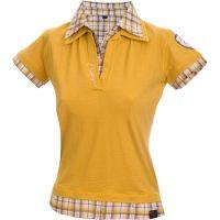 Chillaz  Angebote –  Chillaz Polo W's Shirt Kurzarm Fancy olive  gerade als Outdoor – Schnäppchen für Sparer