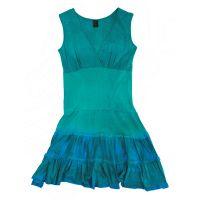 Prana  Angebote –  Prana Mina W's Dress turquoise  gerade als Outdoor – Schnäppchen für Sparer