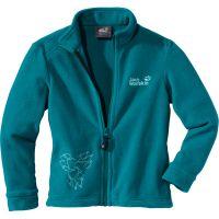 Jack Wolfskin  Angebote –  Jack Wolfskin Girls Sola Jacket baltic blue  gerade als Outdoor – Schnäppchen für Sparer