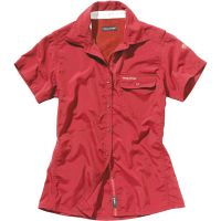 Craghoppers  Angebote –  Craghoppers NosiLife Darla W's S/S Shirt blush red  gerade als Outdoor – Schnäppchen für Sparer