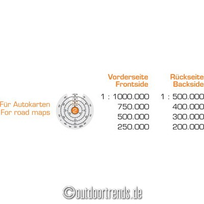 Kasper-Richter  Sonderangebote –  Ontour mit Ring – Kartenmesser nun mit 70  % Rabatt für 7.45 € im Angebot