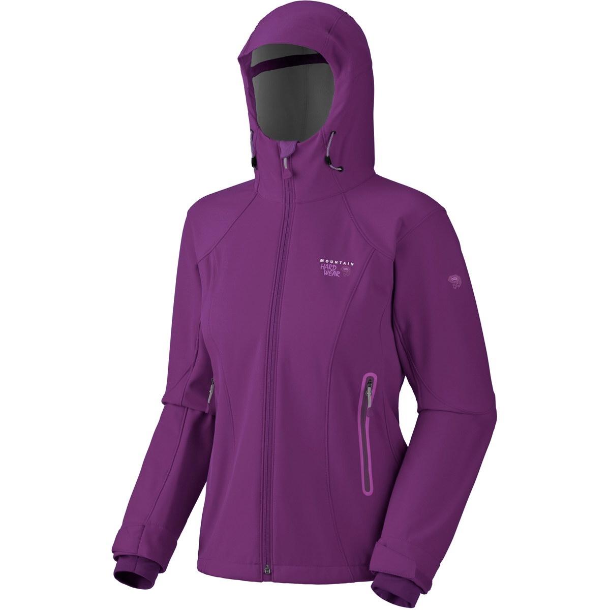 Mountain Hardwear  Sonderangebote –  Women's Barisian Jacket – Softshelljacke nun mit 40  % Rabatt für 101.95 € im Angebot