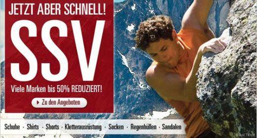 SSV bei OutdoorTrends – Jetzt viele Marken bis 50% reduziert