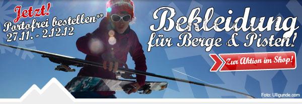 Bis zu 40% Rabatt auf Skibekleidung, versandkostenfrei bestellen & Handschuhe gratis!