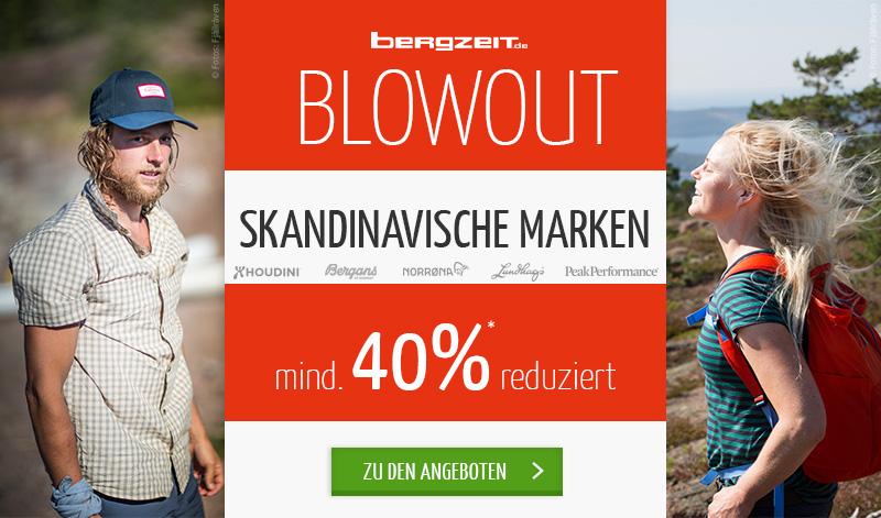 Mindestens 40% auf skandinavische Marken im Blowout